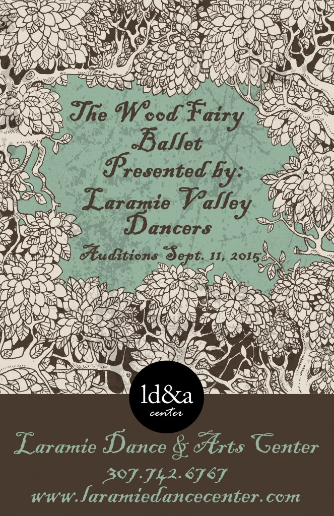 Wood Fairy Ballet Poster